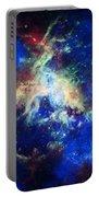 Tarantula Nebula 4 Portable Battery Charger by Jennifer Rondinelli Reilly - Fine Art Photography