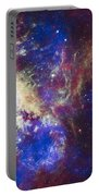 Tarantula Nebula Portable Battery Charger by Adam Romanowicz