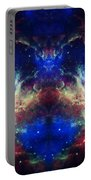 Tarantula Nebula Reflection Portable Battery Charger by Jennifer Rondinelli Reilly - Fine Art Photography