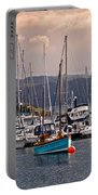 Tarbet Harbor At Sunrise Portable Battery Charger