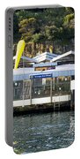 Taronga Zoo Wharf Portable Battery Charger by Steven Ralser