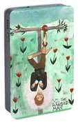 Tarot 12 The Hanged Man Portable Battery Charger