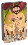 Tarot 15 The Devil Portable Battery Charger