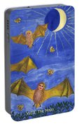 Tarot 18 The Moon Portable Battery Charger