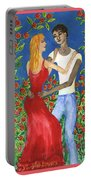 Tarot 6 The Lovers Portable Battery Charger