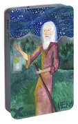 Tarot 9 The Hermit Portable Battery Charger
