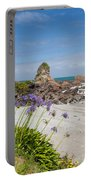 Tasman Sea At West Coast Of South Island Of Nz Portable Battery Charger
