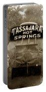 Tassajara Hot Springs Stage Monterey Co. California Circa 1910 Portable Battery Charger