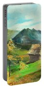 Tatry Mountains Portable Battery Charger
