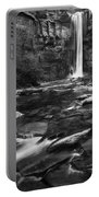 Taughannock Black And White Portable Battery Charger