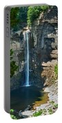 Taughannock Falls Portable Battery Charger by Christina Rollo