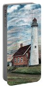 Tawas Point Light Portable Battery Charger