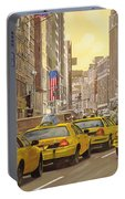 taxi a New York Portable Battery Charger