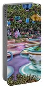 Tea Cup Ride Fantasyland Disneyland Portable Battery Charger by Thomas Woolworth