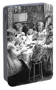 Tea Party, C1902 Portable Battery Charger