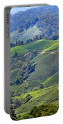 Tea Plantation In The Cameron Highlands Malaysia Portable Battery Charger