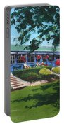 Tea Rooms At The Peoples Park Portable Battery Charger