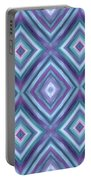 Teal Diamond Dreams Portable Battery Charger