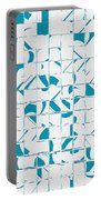 Teal Glyphs  Portable Battery Charger