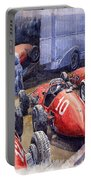 Team Ferrari 500 F2 1952 French Gp Portable Battery Charger