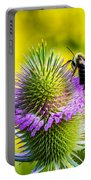 Teasel And Bee Portable Battery Charger
