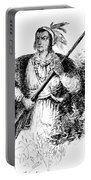 Tecumseh, Shawnee Indian Leader Portable Battery Charger