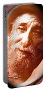 Ted Degrazia Portrait By Henry Redl Circa 1980-2013 Portable Battery Charger