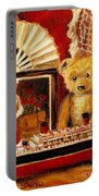 Teddy Bear With Tugboat Doll And Fan Childhood Memories Old Toys And Collectibles Nostalgic Scenes  Portable Battery Charger