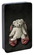Teddy In Pumps Portable Battery Charger