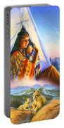 Teepee Of Dreams Portable Battery Charger