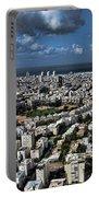 Tel Aviv Center Portable Battery Charger by Ron Shoshani