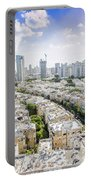 Tel Aviv Israel Elevated View Portable Battery Charger
