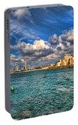 Tel Aviv Jaffa Shoreline Portable Battery Charger