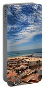 Tel Aviv Summer Time Portable Battery Charger by Ron Shoshani