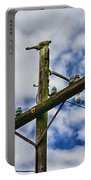 Telegraph Pole - Yesterdays Technology Portable Battery Charger