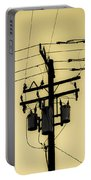 Telephone Pole 4 Portable Battery Charger