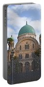 Tempio Maggiore  The Great Synagogue Of Florence Portable Battery Charger