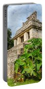 Temple And Foliage Portable Battery Charger
