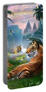 Temple Lake Tigers Portable Battery Charger