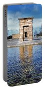 Temple Of Debod Portable Battery Charger