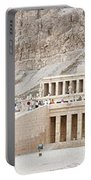 Temple Of Hatsepsut In Egypt Portable Battery Charger