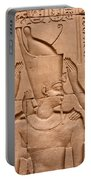 Temple Of Horus Relief Portable Battery Charger by Stephen & Donna O'Meara