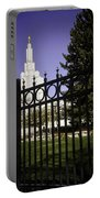 Temple Of Idaho Falls Portable Battery Charger