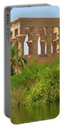 Temple Of Isis Among The Trees Portable Battery Charger