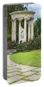 Temple Of Love Statue At The Rose Garden Of The Huntington. Portable Battery Charger