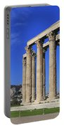 Temple Of Olympian Zeus Athens Greece Portable Battery Charger