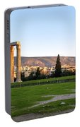 Temple Of Olympian Zeus. Athens Portable Battery Charger