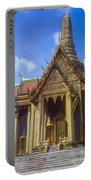 Temple Of The Emerald Buddha Portable Battery Charger