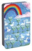 Ten Of Cups Portable Battery Charger