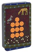 Ten Of Pentacles Portable Battery Charger
